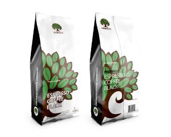 Oromoo Espresso Coffee Light (Supremo), 1000 Grams