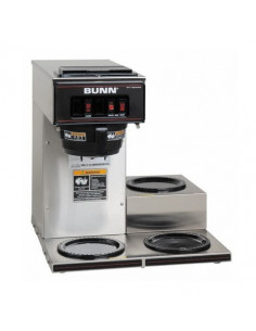 [USED] Bunn VP17A-3 Low Profile Pourover Coffee Brewer with 3 Warmers