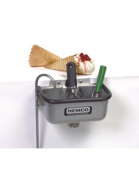 77316-10 حنفية نيمكو بوعاء غمس لتنظيف ملاعق غرف المثلجات
