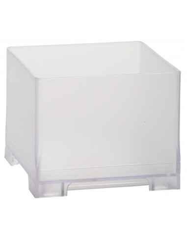Snap Bin, 3.5in, Frosted