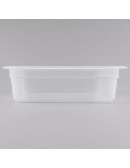 """وعاء طعام شفاف 24PP190 بمقاس 1\2 وارتفاع 4"""" من كامبرو"""