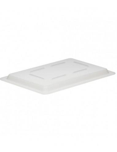 """غطاء علبة حفظ الطعام كام وير أبيض ومسطح بمقاس 12"""" × 18"""" من كامبرو"""