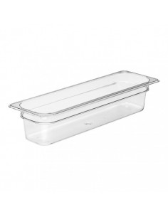 Cambro 24LPCW135 Camwear 1/2 Size Long Clear Food Pan