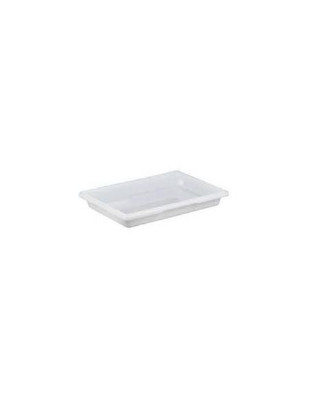 """علبة لحفظ الطعام 18263P148 باللون الأبيض بمقاس 18"""" × 26"""" × 3 1\2"""" من كامبرو"""