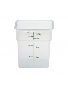 Cambro 4 Qt. Square Food Storage Container