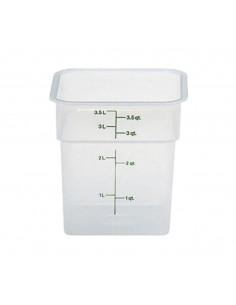 وعاء مربع  لتخزين الطعام