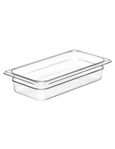 Cambro 32CW135 Camwear 1/3 Size Clear Food Pan