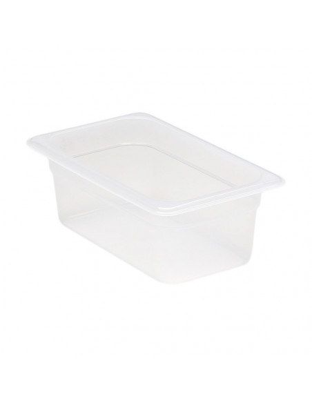 """وعاء طعام شفاف 4644PP190 بمقاس 1\4 وارتفاع 4"""" من كامبرو"""