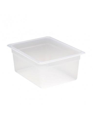 """وعاء طعام شفاف 26PP190 بمقاس 1\2 وارتفاع 6"""" من كامبرو"""
