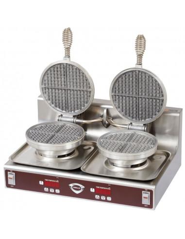 Wells WB-2 Counter Top 2 Pans Waffle Maker