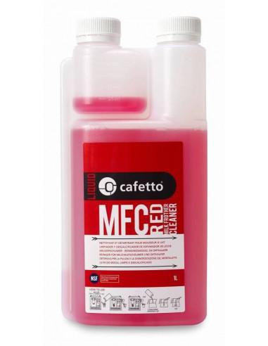 (1لتر X 6 علب ) منظف إناء خفق الحليب باللون الأحمر