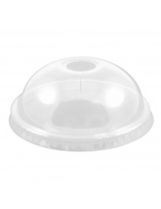CLEAR ICE CREAM DOME LIDS FOR 16OZ CUPS