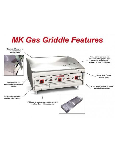 صاج الشوي الغازي (MKG-48-ST)