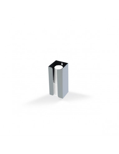 Miran Stainless steel Tabletop Cup Dispenser - Small