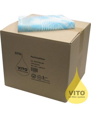 (PE100 V30)أوراق السليلوز للترشيح من فيتو - ١٠٠ ورقة في الكرتون