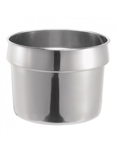 وعاء من الفولاذ المقاوم للصدأ سعة 11 كوارت (10.4 لتر) - طراز 84131 من سيرفر
