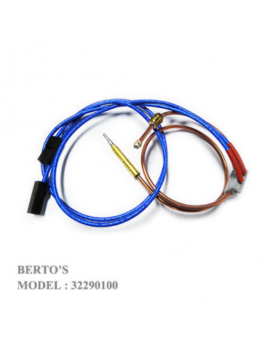 Bertos 32290100 THERMOCOUPLE INTERRUPTED CONNECTION AND LEADS