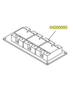 Nuova Simonelli 04200095 COMPLETE ASSEMBLY RELAY 25 AMP