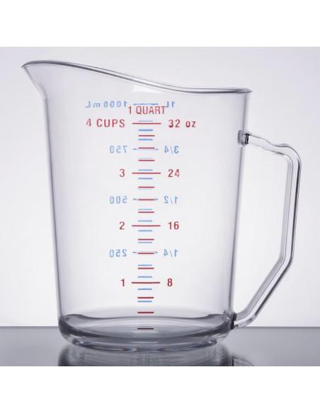 (100MCCW135) كوب القياس الشفاف