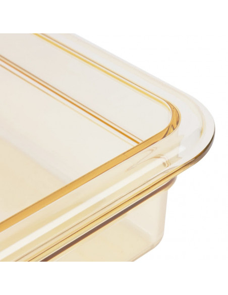Cambro 32HP1H150 High Heat Pan 1/3 Size Food Pan with Handle