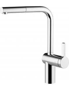 KWC LIVELLO 10.231.103.700FL SINGLE LEVER MIXER WITH PULL-OUT SPRAY