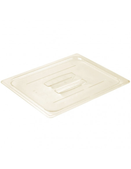 Cambro 20HPCH150 High Heat 1/2 Size Handled Flat Lid