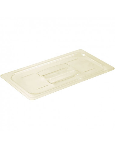 Cambro 30HPCH150 High Heat 1/3 Size Handled Flat Lid