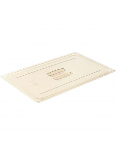 Cambro 10HPCH150 High Heat Full Size Handled Flat Lid