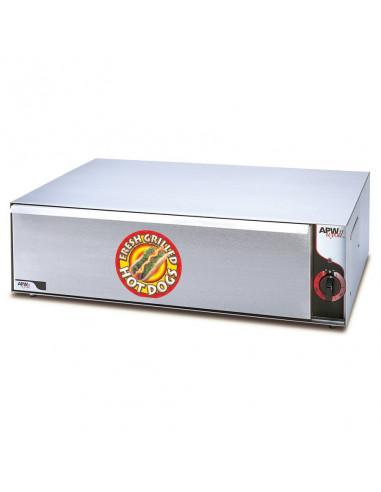 APW Wyott BW-50 long roll bread warmer
