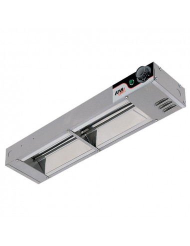 APW Wyott FD-60H-T High Wattage Calrod Food Warmer with Toggle Controls