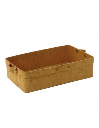 AM Rectangular Poplar Wood Box