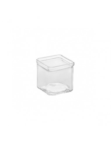 AM Square Glass Jar