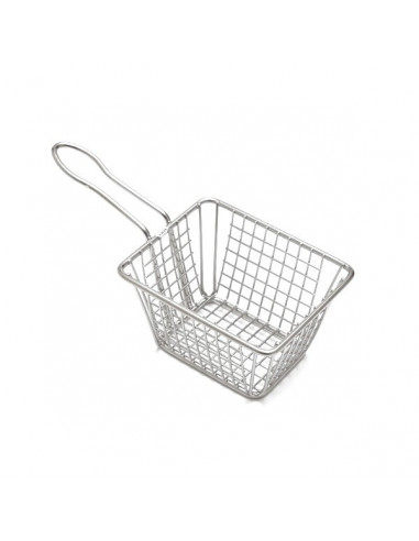 AM Rectangular Stainless Steel Fry Basket