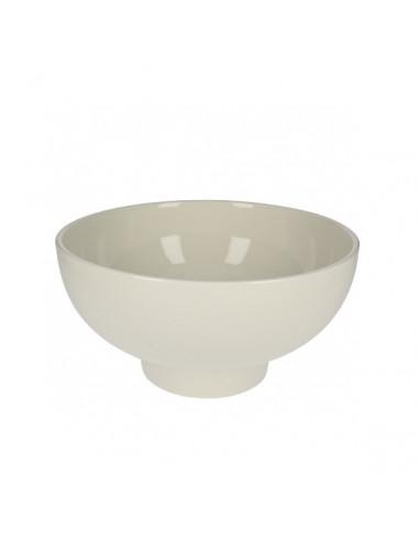 AM Footed Porcelain Bowl